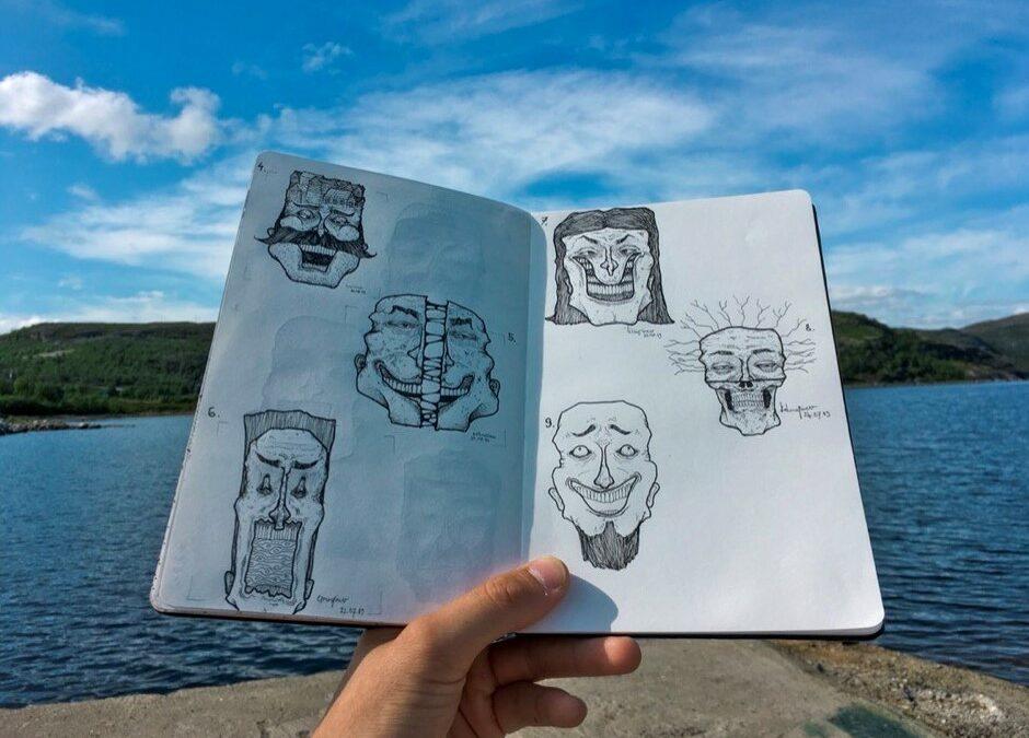 Discutiendo cambios radicales en la vida con la ilustradora Tanel Riik